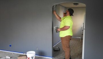 Le travail de rénovation avec des professionnels